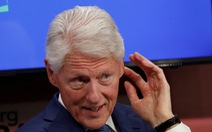 Cựu tổng thống Mỹ Bill Clinton nhập viện, không liên quan đến COVID-19