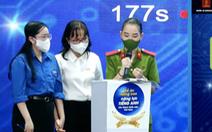 Ba cô gái chiến thắng sân chơi Olympic tiếng Anh cán bộ trẻ toàn quốc