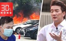 Bản tin 30s Nóng: Đốt ô tô vì nghi vợ ngoại tình với 'sếp'; Đàm Vĩnh Hưng phải rời ghế giám khảo Miss World Việt Nam?