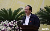 Cảnh cáo ông Nguyễn Thế Hùng, nguyên phó chủ tịch UBND TP Hà Nội