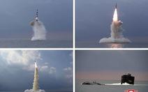 Triều Tiên xác nhận thử tên lửa đạn đạo phóng từ tàu ngầm