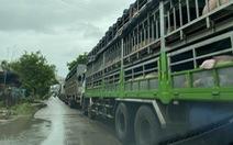 Quốc lộ 1 ngập lũ, xe cộ ùn ứ dài hàng cây số đường lên cao tốc Đà Nẵng - Quảng Ngãi