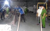Bắt quả tang công ty thép xả thải chưa qua xử lý ra môi trường