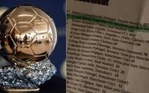 Báo Tây Ban Nha: Lewandowski đoạt Quả bóng vàng 2021, Messi chỉ về nhì