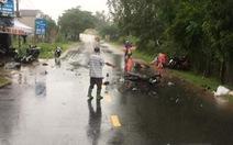 3 xe máy tông nhau, 3 người chết, 2 người bị thương