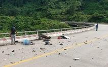 Chạy xe máy về quê tránh dịch, 2 mẹ con va chạm với xe tải tử vong