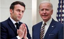 Ông Macron sẽ gặp ông Biden sau căng thẳng về AUKUS