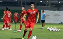 Đình Trọng bị loại khỏi trận gặp Trung Quốc