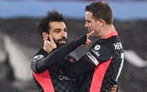 Salah rực sáng, Liverpool hạ West Ham vào Top 3