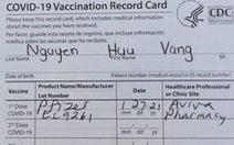 Mướt mồ hôi mới chích được vắcxin ở Mỹ