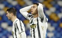 Video: Ronaldo và đồng đội bất lực, Juventus nhận thất bại trước Napoli