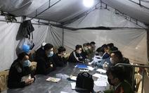 34 thanh niên phi xe máy 'thông chốt' bất thành từ Hải Dương vào Hải Phòng