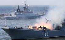 Iran và Nga tập trận chung 3 ngày trên diện tích 17.000km2 ở Ấn Độ Dương