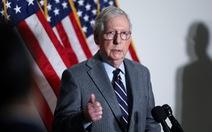 Ông Trump 'tấn công' lãnh đạo Đảng Cộng hòa tại Thượng viện McConnell
