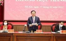 Bí thư Hà Nội: 'Không ngăn sông cấm chợ, nhưng phải an toàn phòng dịch COVID-19'
