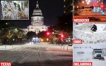 Nhiệt độ thấp kỷ lục âm 35 độ C, hơn 20 người chết do bão mùa đông ở Mỹ