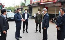 Bí thư Hải Dương phê bình lãnh đạo huyện Kim Thành chưa sâu sát dập dịch