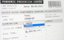 Giấy chứng nhận âm tính COVID-19 giả 'tung' giá bao nhiêu?