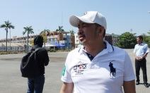 Chủ tịch CLB Sài Gòn khảo sát Trung tâm Thành Long để chuẩn bị cải tạo