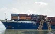 Sẽ giám định trụ cầu Phước Khánh sau vụ tàu container va vào cần cẩu