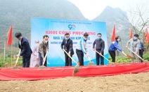 Khởi công phục dựng nhà sàn anh Kim Đồng, khởi động Tháng thanh niên