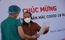 Bệnh viện dã chiến điều trị COVID-19 Gia Lai cho 6 bệnh nhân xuất viện