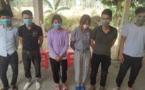 Bắt 14 nam, nữ từ các tỉnh tụ về Long An vượt biên 'tìm việc lương cao'