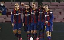 Messi rực sáng, Barcelona rút ngắn khoảng cách với hai đội bóng thành Madrid