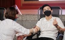 Cầu thủ Đoàn Văn Hậu hiến máu: 'Mỗi người đều có thể làm điều gì đó cho người khác'