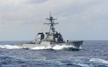 Tàu chiến Mỹ qua eo biển Đài Loan, Trung Quốc nói Mỹ 'cố ý phá hoại hòa bình'