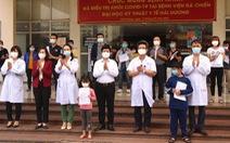 Bệnh nhân COVID-19 'siêu lây nhiễm' ở ổ dịch Cẩm Giàng xuất viện