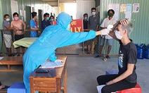 Kiên Giang xét nghiệm cho cán bộ, chiến sĩ, nhân viên y tế trong các khu cách ly