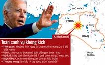 Mỹ bắn nhiều tín hiệu khi không kích Syria