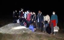 13 người quê Bạc Liêu, Sóc Trăng, Thái Nguyên... từ Trung Quốc nhập cảnh trái phép lúc rạng sáng