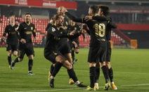 Trận đấu điên rồ của Barcelona ở Cúp Nhà vua