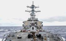 Tàu khu trục Mỹ chạy gần Hoàng Sa, thúc đẩy tự do hàng hải