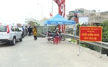 Thái Bình tạm dừng 6 chốt kiểm dịch tại cửa ngõ ra, vào tỉnh