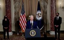 Phát biểu đầu tiên của ông Biden về đối ngoại: 'Nước Mỹ đã trở lại'