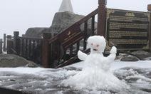 Bắc Bộ rét đậm, vùng núi cao có thể có mưa tuyết