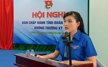 Chị Hồ Hồng Nguyên được bầu làm bí thư Tỉnh đoàn Đồng Nai