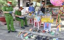 Thu hồi hơn 7.000 que pháo và hàng trăm đồ chơi nguy hiểm tại Tiền Giang