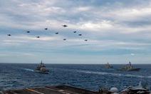 Tàu chiến Mỹ vào Biển Đông xong, 2 nhóm tác chiến tàu sân bay Mỹ cũng tiến vào