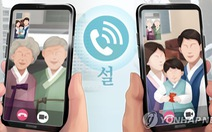 Cấm tụ tập 5 người trở lên, kể cả gia đình, Hàn Quốc khuyến khích Tết sum vầy qua... video