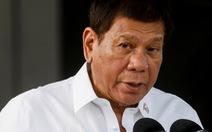 Ông Duterte: 'Trung Quốc cho chúng tôi mọi thứ, nhưng chưa bao giờ đòi hỏi gì'