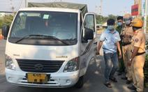 Phát hiện 2 tài xế xe tải dương tính với ma túy tại cửa ngõ cảng Hiệp Phước