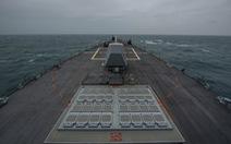 Coi video khu trục hạm qua eo biển Đài Loan do Mỹ công bố, Trung Quốc nổi giận