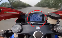 Xác minh tài xế mô tô 'phóng tốc độ bàn thờ' 299 km/h trên đại lộ Thăng Long