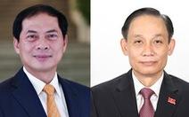 Bộ Ngoại giao giới thiệu 2 thứ trưởng ứng cử đại biểu Quốc hội khóa XV