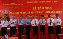 Khánh thành ký túc xá tại Học viện Chính trị quốc gia khu vực IV