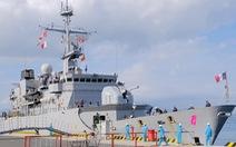 Tàu chiến châu Âu dồn dập vào Biển Đông